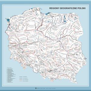 regiony geograficzne polski