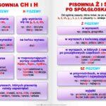 ortografia - plansza edukacyjna z języka polskiego
